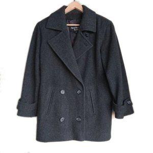 Vintage Anne Klein 100% Wool Pea Coat